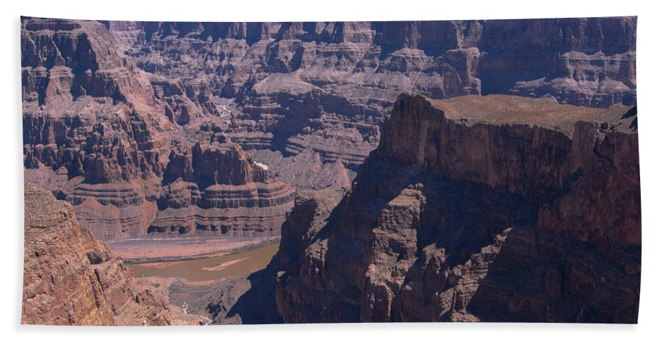 Arizona Beach Towel featuring the photograph Colorado River by Dusty Conley