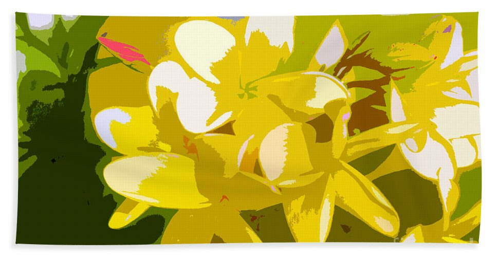 Summer Beach Towel featuring the painting Colors Of Summer by David Lee Thompson