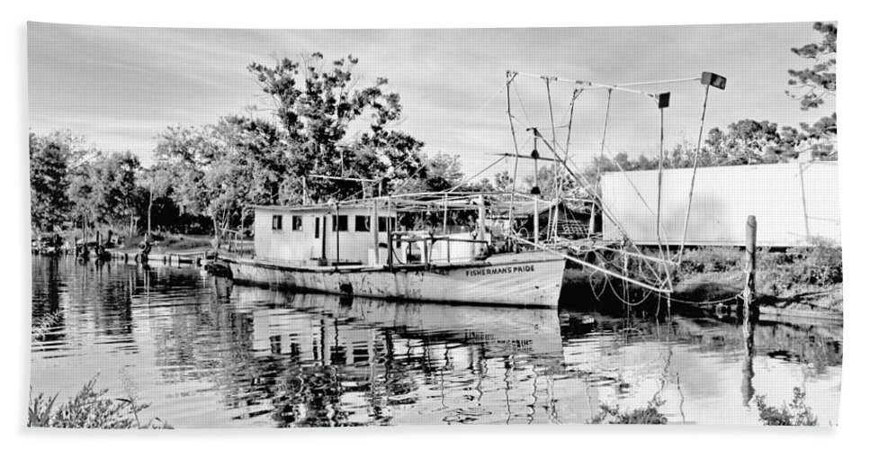 Boat Beach Towel featuring the photograph Fisherman's Pride by Scott Pellegrin