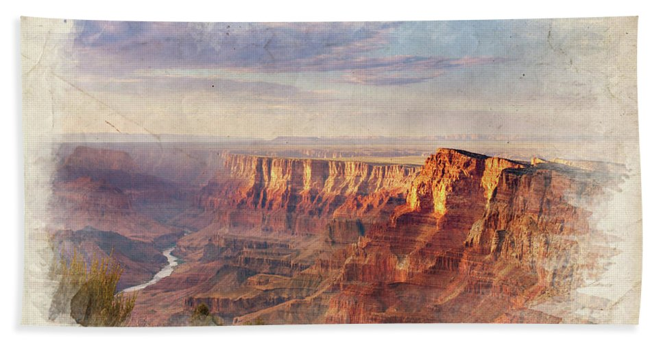 Grand Beach Towel featuring the photograph Grand Sunset by Ricky Barnard