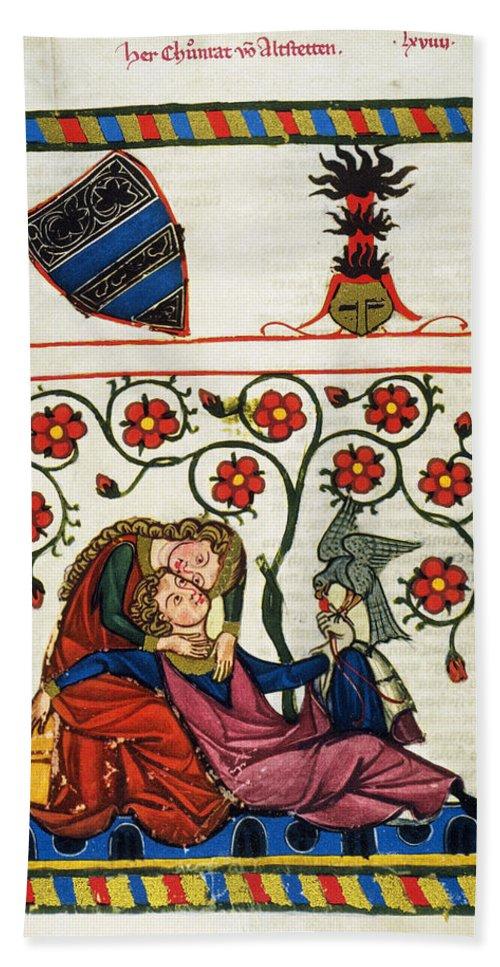 14th Century Beach Towel featuring the photograph Heidelberg Lieder, 14th C by Granger
