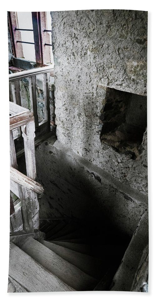 Castle Beach Towel featuring the photograph Inside The Castle Frankenstein by Jason Steele