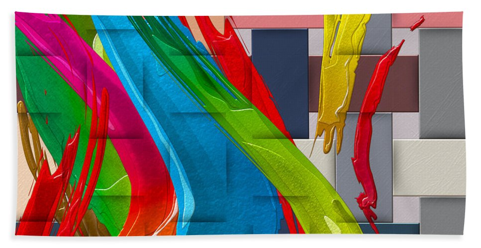 �abstracts Plus� Collection By Serge Averbukh Beach Towel featuring the photograph It's A Virgo - The End Of Summer by Serge Averbukh