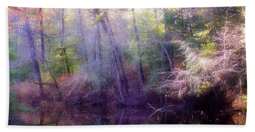 2d Beach Towel featuring the photograph Lake Waterford by Brian Wallace