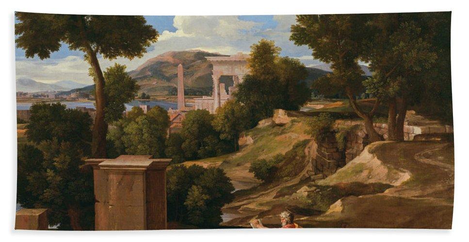 landscape with st john on patmos