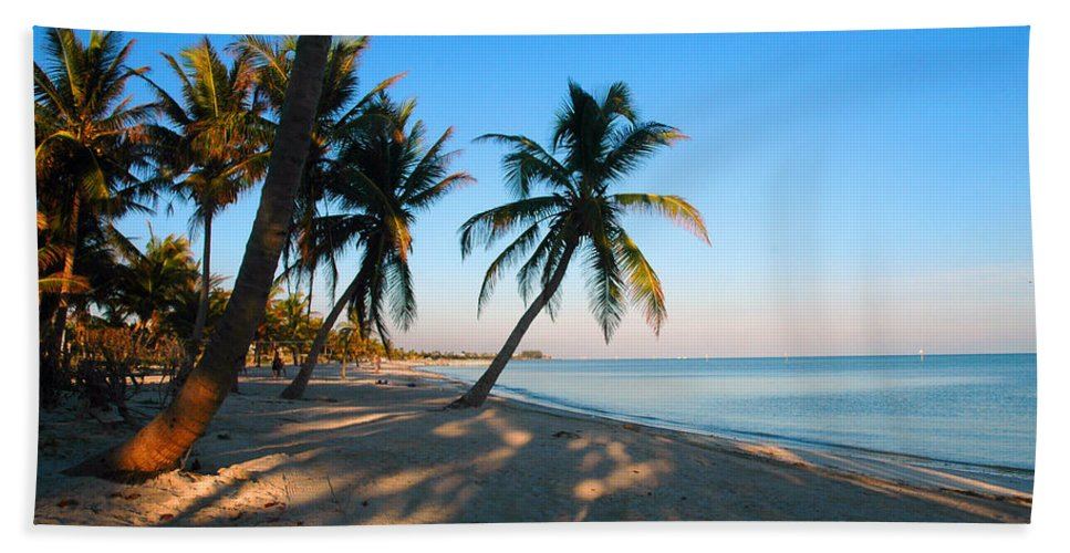 Photography Beach Towel featuring the photograph Last Sunbeams by Susanne Van Hulst
