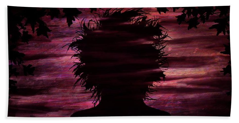 Nature Beach Towel featuring the digital art Narcissus by William Russell Nowicki