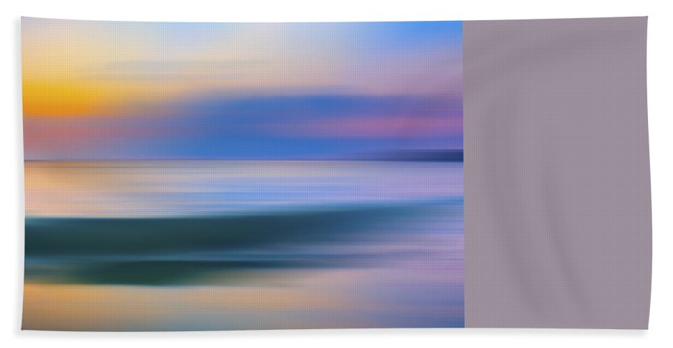 Wave Beach Towel featuring the photograph Neptune Step by Sean Davey