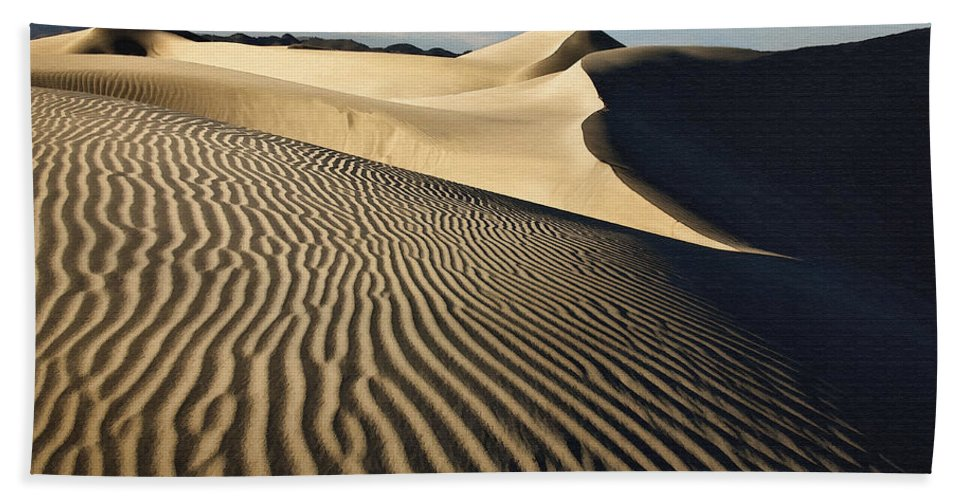 Dune Beach Towel featuring the digital art Oceano Dunes II by Sharon Foster