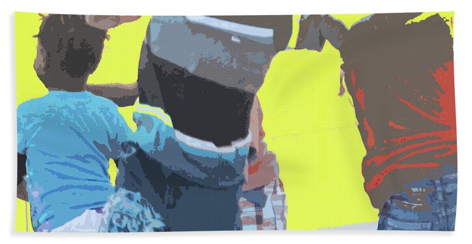 Children Beach Towel featuring the photograph Play by Ian MacDonald