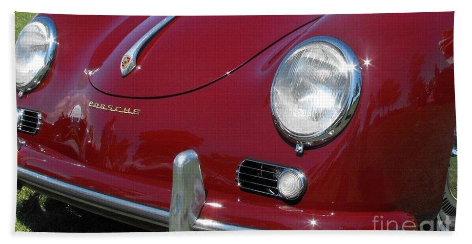 Porsche Beach Towel featuring the photograph Porsche by Neil Zimmerman