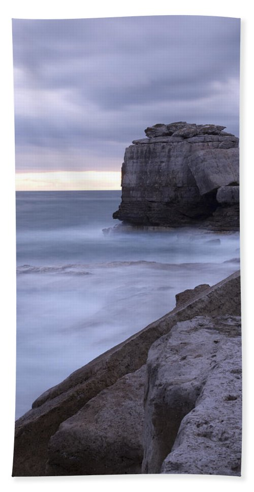 Portland Beach Towel featuring the photograph Portland Bill Seascapes by Ian Middleton