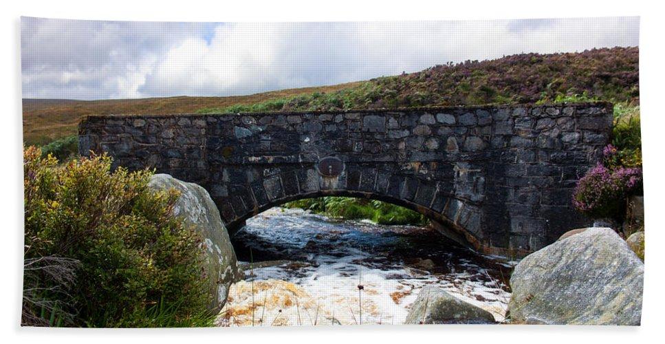 Bridge Beach Towel featuring the photograph Ps I Love You Bridge In Ireland by Semmick Photo