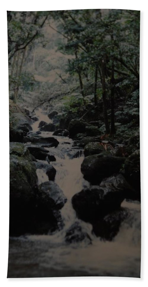 Water Beach Towel featuring the photograph Puerto Rico Water by Rob Hans