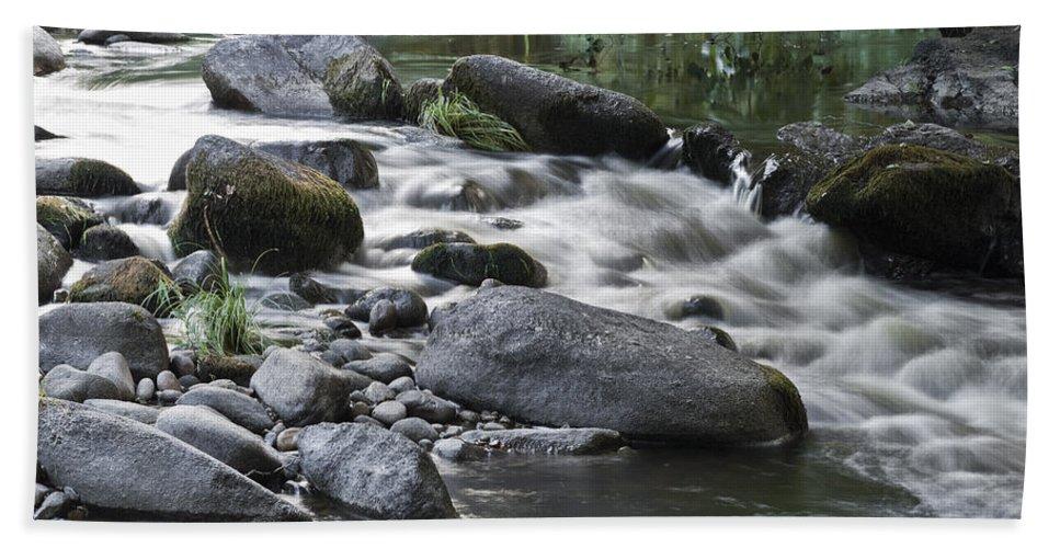 River Beach Towel featuring the photograph River by Pedro Blazquez Gutierrez
