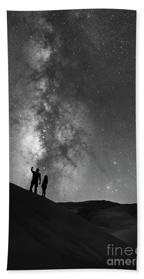 Star Crossed Lovers Beach Sheet featuring the photograph Stargazers by Michael Ver Sprill