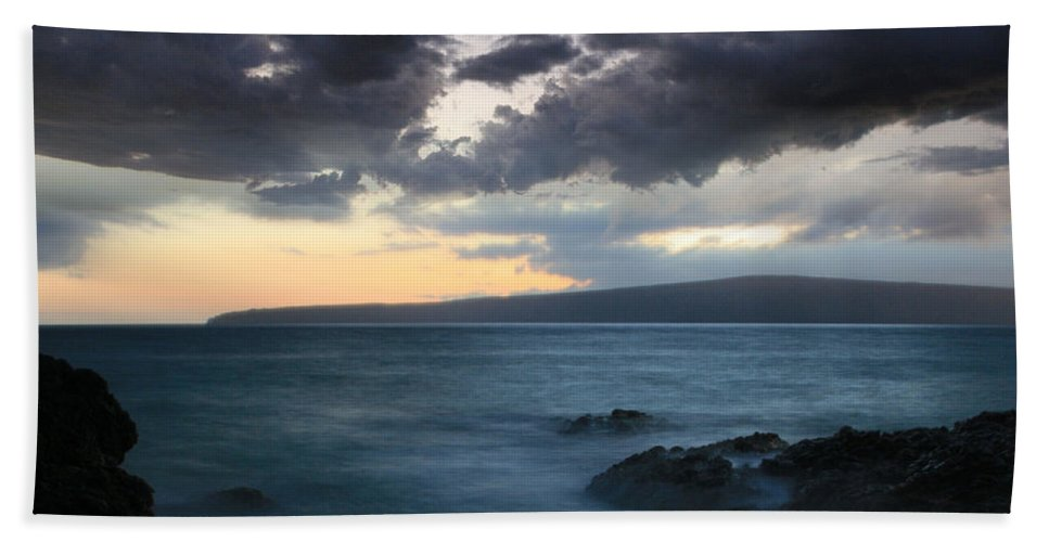 Aloha Beach Towel featuring the photograph The Element Of Love by Sharon Mau