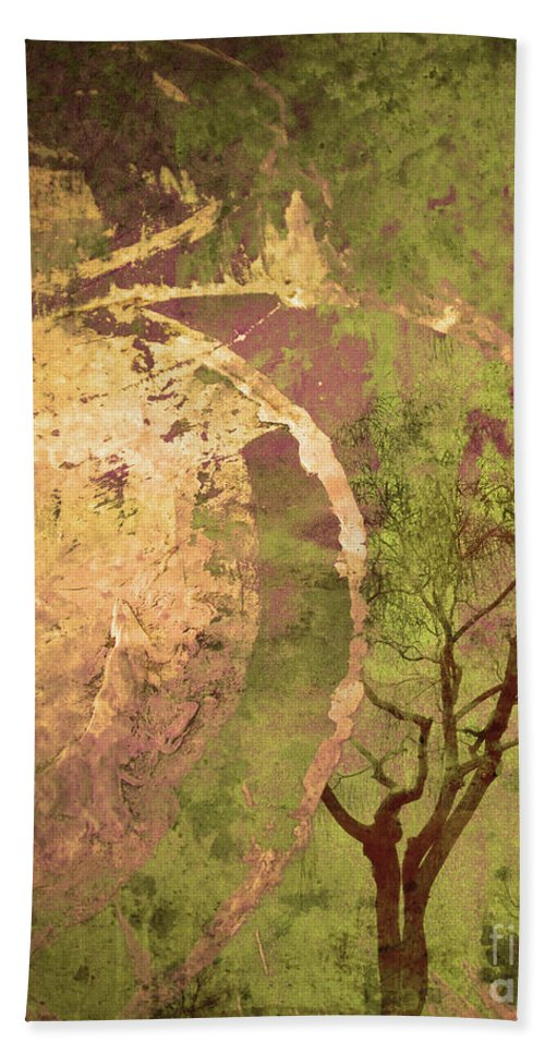 Tree Beach Towel featuring the photograph The Fallen by Tara Turner