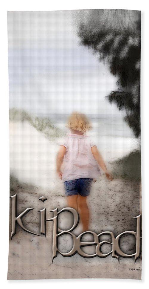 Quote Beach Towel featuring the digital art True Friends by Vicki Ferrari