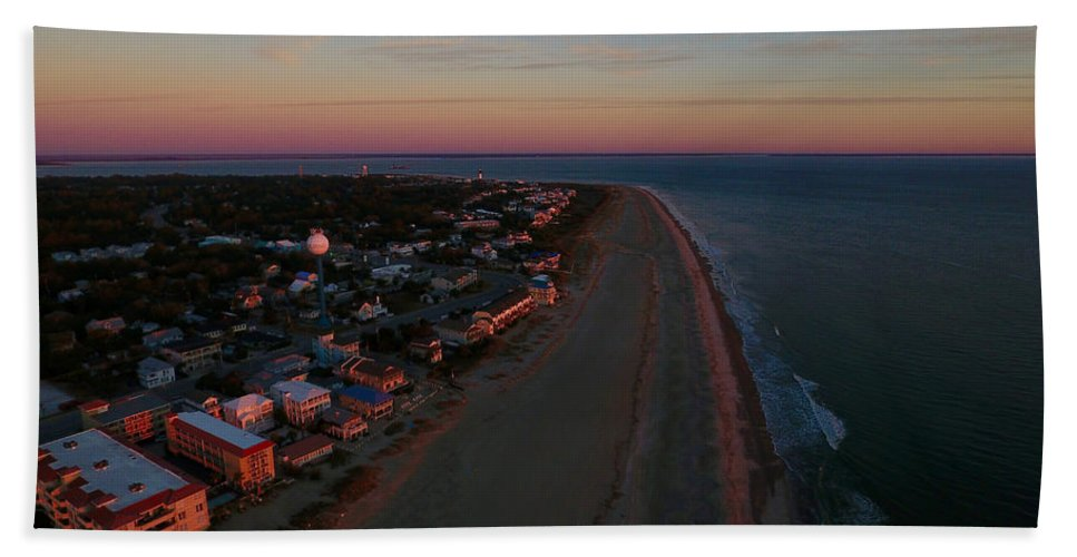 Tybee Island Beach Towel featuring the photograph Tybee Island by William Harrell