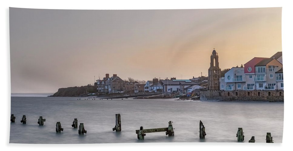 Swanage Beach Towel featuring the photograph Swanage - England by Joana Kruse