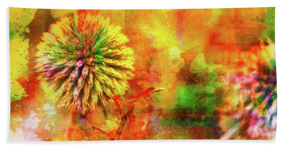 American Beach Cottage Art And Feelings Beach Towel featuring the photograph American Beach Cottage Art And Feelings by Paul Ranky