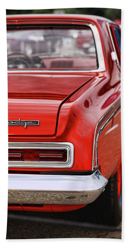 1963 Beach Towel featuring the photograph 1963 Dodge 426 Ramcharger Max Wedge by Gordon Dean II