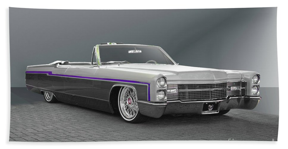 1966 Cadillac Custom Eldorado Convertible Beach Sheet