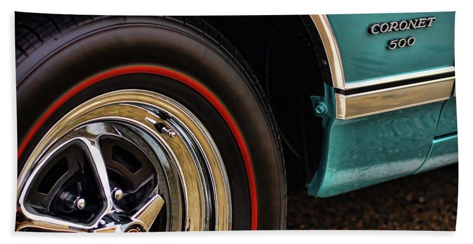 1966 Beach Towel featuring the photograph 1969 Dodge Coronet 500 by Gordon Dean II