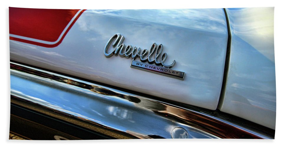 1970 Beach Towel featuring the photograph 1970 Chevy Chevelle Ss 396 Ss396 by Gordon Dean II