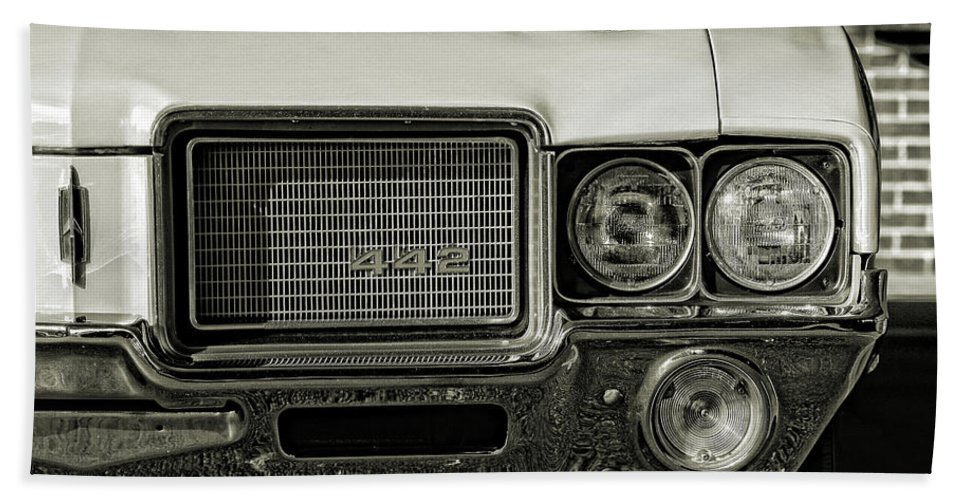 1972 Beach Towel featuring the photograph 1972 Olds 442 by Gordon Dean II