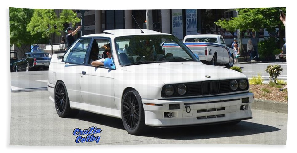 1988 Bmw E30 M3 Robles Beach Towel