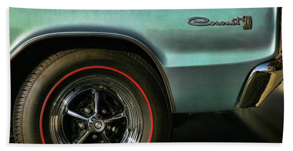 1966 Beach Towel featuring the photograph 1966 Dodge Coronet 500 by Gordon Dean II