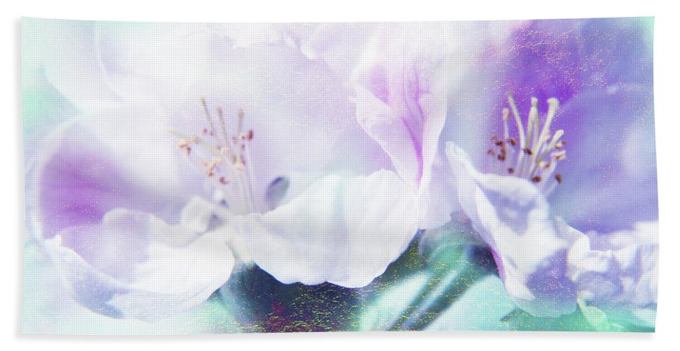 Flower Beach Towel featuring the photograph Flowering by Lali Kacharava