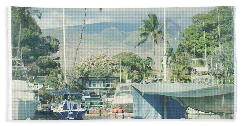 Aloha Beach Towel featuring the photograph Lahaina by Sharon Mau