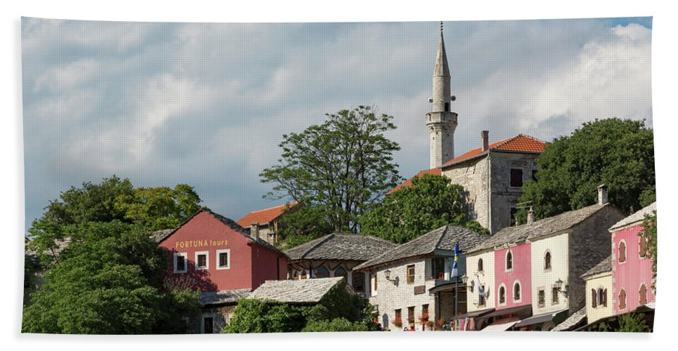 And Beach Towel featuring the photograph Mostar, Bosnia And Herzegovina by Ken Welsh