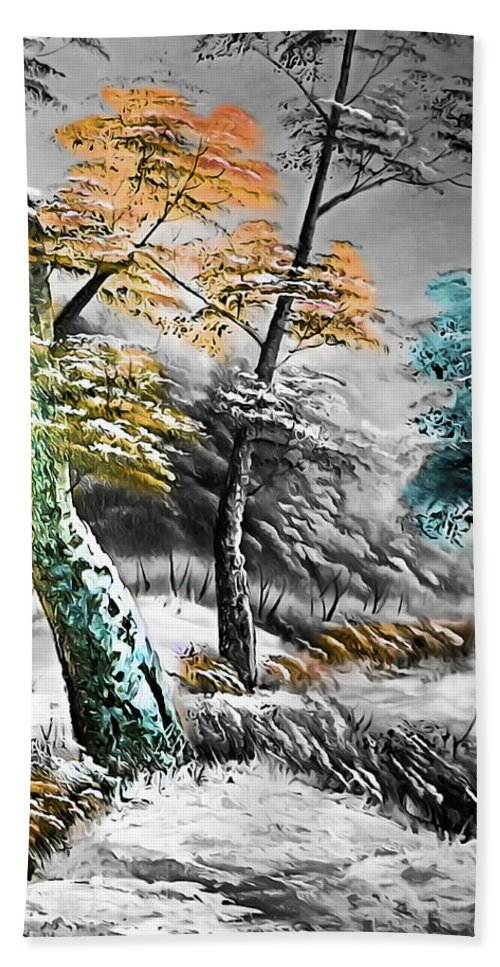 Nature Beach Towel featuring the photograph Nature Colors by Munir Alawi