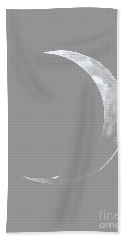 Moon Phase Wall Art Beach Towel featuring the painting Sailor Moon by Sweeping Girl