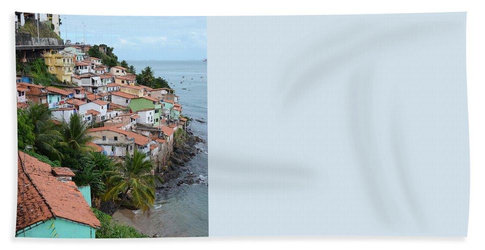 Salvador Beach Towel featuring the photograph Salvador Da Bahia - Brazil by Ralf Broskvar
