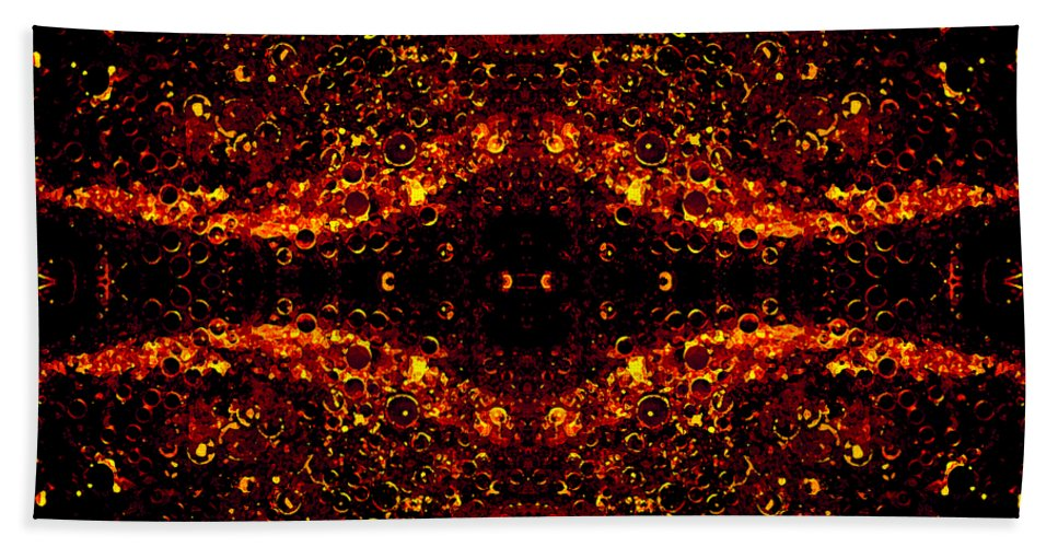 Abstract Beach Towel featuring the photograph The Beginning Or The End by Angelina Vick