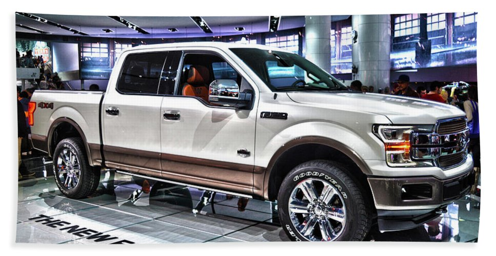 2018 ford f 150 king ranch beach towel for sale by adam. Black Bedroom Furniture Sets. Home Design Ideas