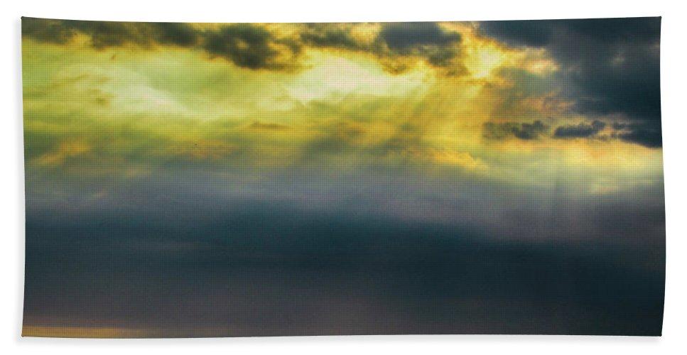 Ipanema Beach Beach Towel featuring the photograph Sunset by Cesar Vieira