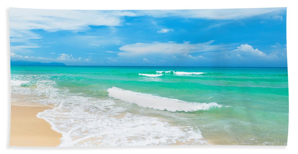 Beach Beach Towel featuring the photograph Beach by MotHaiBaPhoto Prints