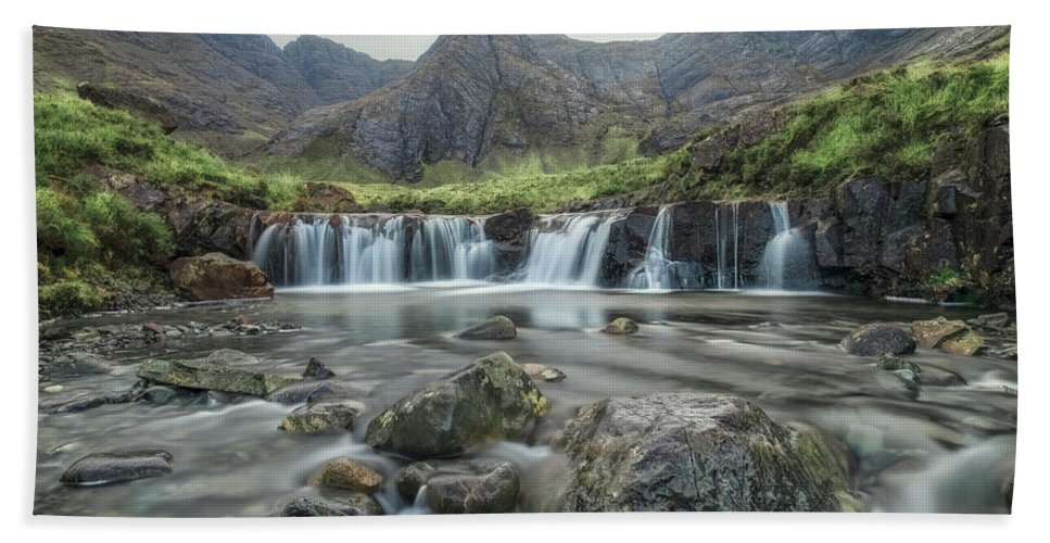 Fairy Pools Beach Towel featuring the photograph Fairy Pools - Isle Of Skye by Joana Kruse