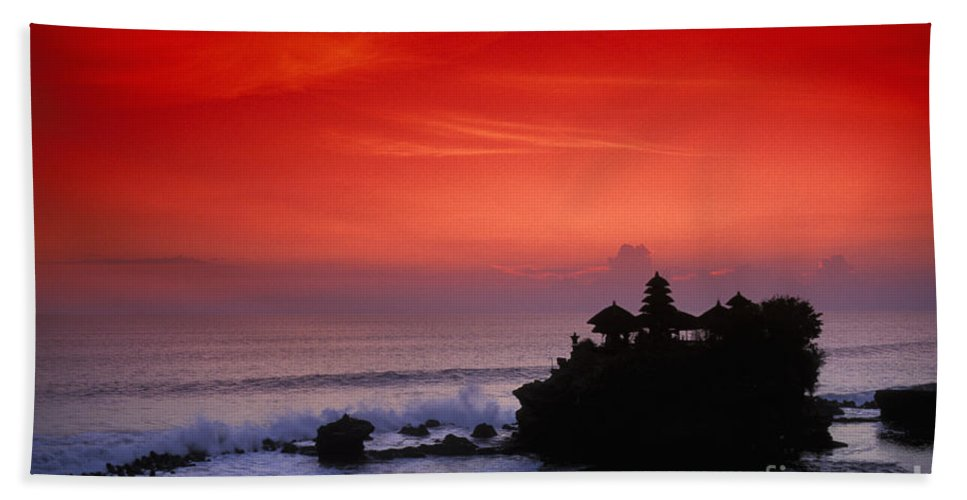 Bali Beach Towel featuring the photograph Indonesia, Bali by Gloria & Richard Maschmeyer - Printscapes