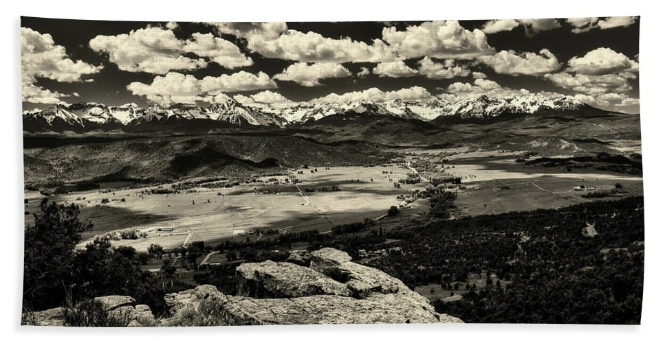 Pleasant Valley Beach Towel featuring the photograph Pleasant Valley Colorado by Mountain Dreams
