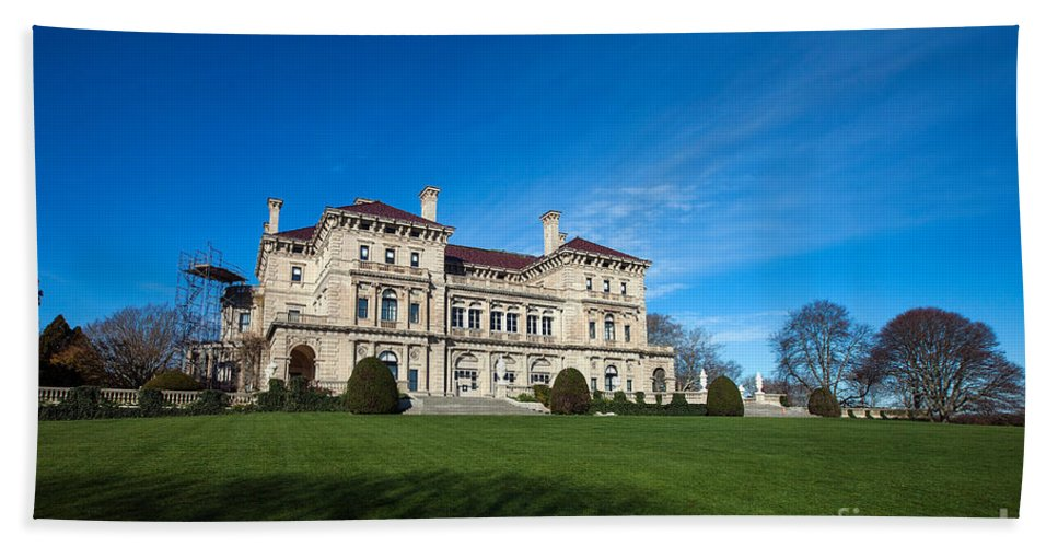 Travel Beach Towel featuring the photograph The Breakers Newport Rhode Island by Jason O Watson