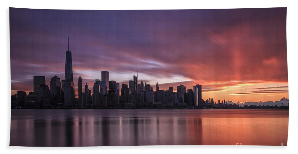 Kremsdorf Beach Towel featuring the photograph 30 Seconds Before Sunrise by Evelina Kremsdorf