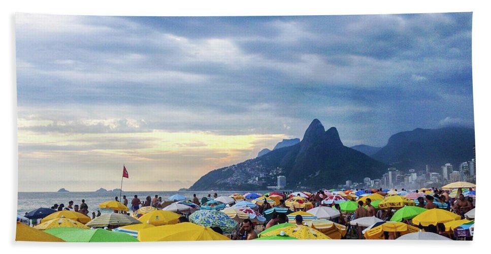 Mountain Beach Towel featuring the photograph Rio de Janeiro by Cesar Vieira