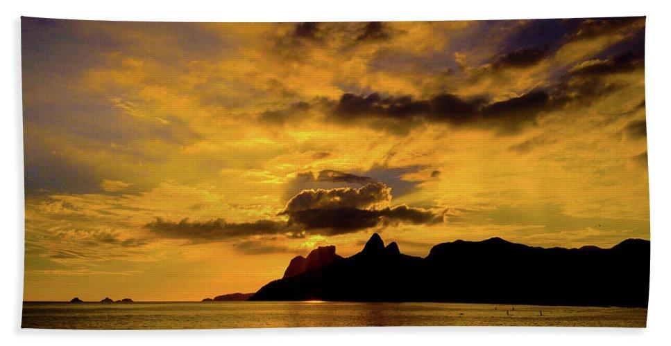 Riodejaneir Beach Towel featuring the photograph Rio de Janeiro by Cesar Vieira